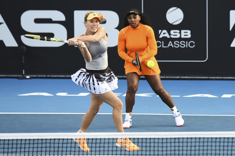 Serena Williams starts 2020 WTA season with win at Auckland Classic