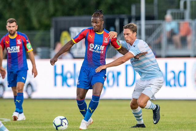 Wilfried Zaha asks to leave Crystal Palace after rejecting new contract as Tottenham, Everton and Dortmund circle