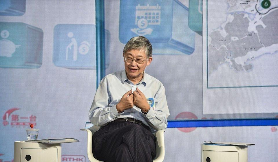 Shih Wing-ching, founder of real estate agency Centaline Group. Photo: Handout
