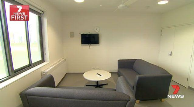 The prison living rooms. Source: 7News
