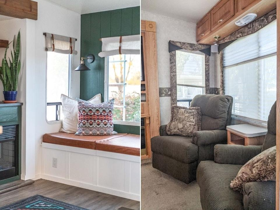 Tilbys RV Reno before and after