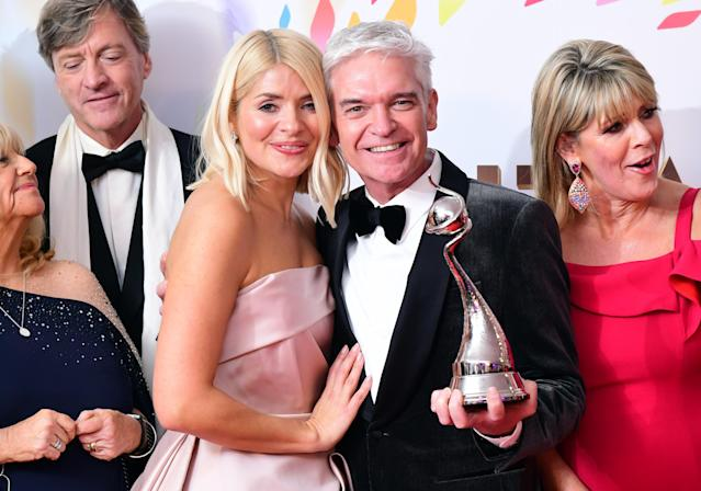 "Phillip Schofield has said he is ""coming to terms with the fact I am gay"" in a statement on Instagram (Picture: PA)"