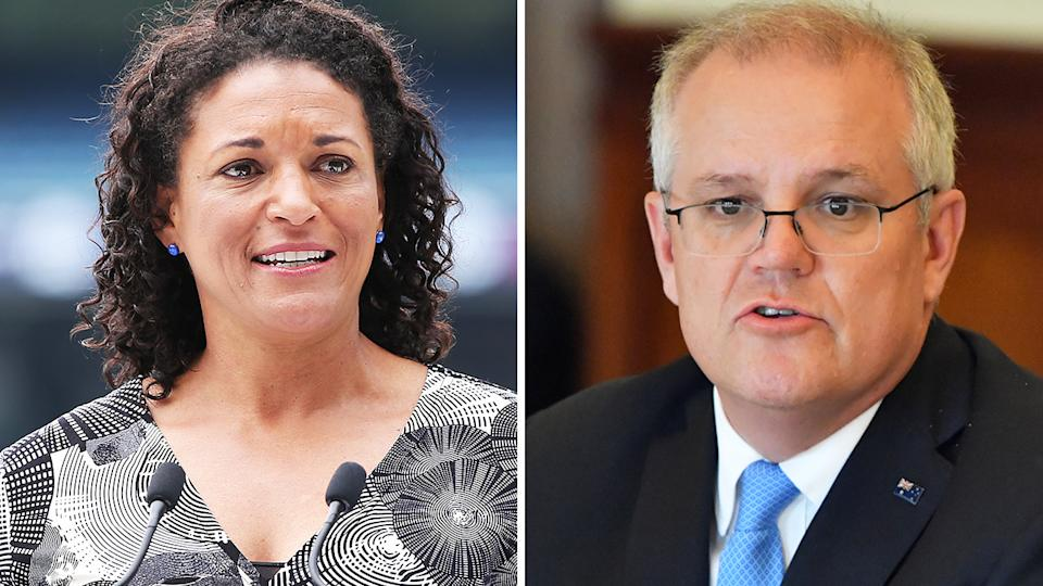 Cricket Australia's Mel Jones has stood firm behind their recommendation to BBL clubs not to promote Australia Day games as such, despite criticism from Prime Minister Scott Morrison. Pictures: Getty Images