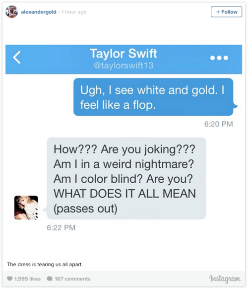Is This Dress Blue And Black Or White And Gold Heres What The