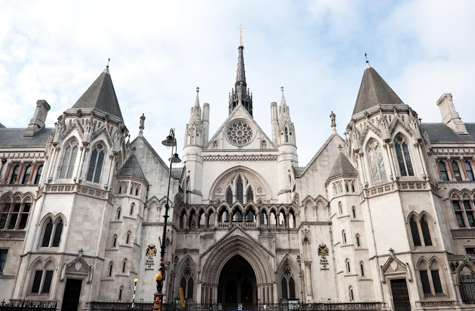 royal court of justice in London