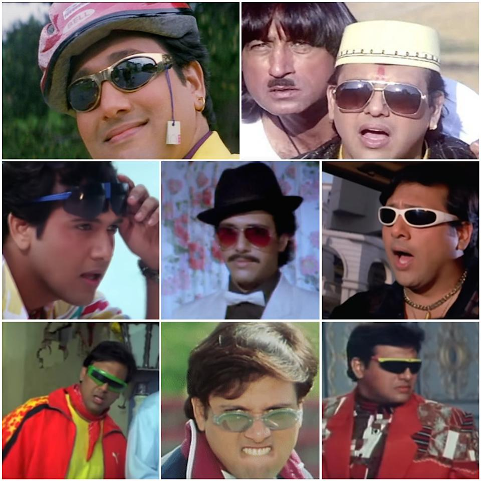 And finally, give it up for the original king of quirk. The actor in Rajaji (1999), Raja Babu (1994), Hum (1991), Love 86 (1986), Akhiyon Se Goli Maare (2002), Anari No 1 (1999), and Coolie No 1 (1995)
