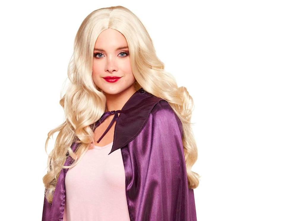 <p>This <span><strong>Hocus Pocus</strong> Sarah Sanderson Wig</span> ($20) is a must to finish off a Sarah Sanderson costume.</p>