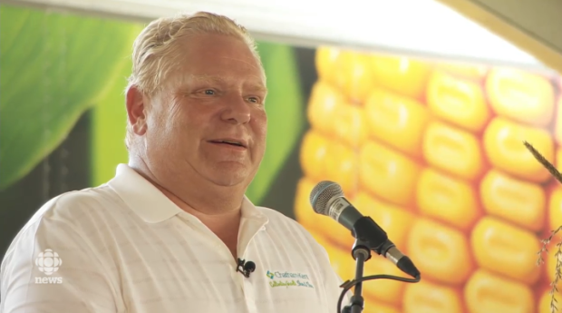Ford and Horwath promise natural gas expansion for rural Ontario at plowing match