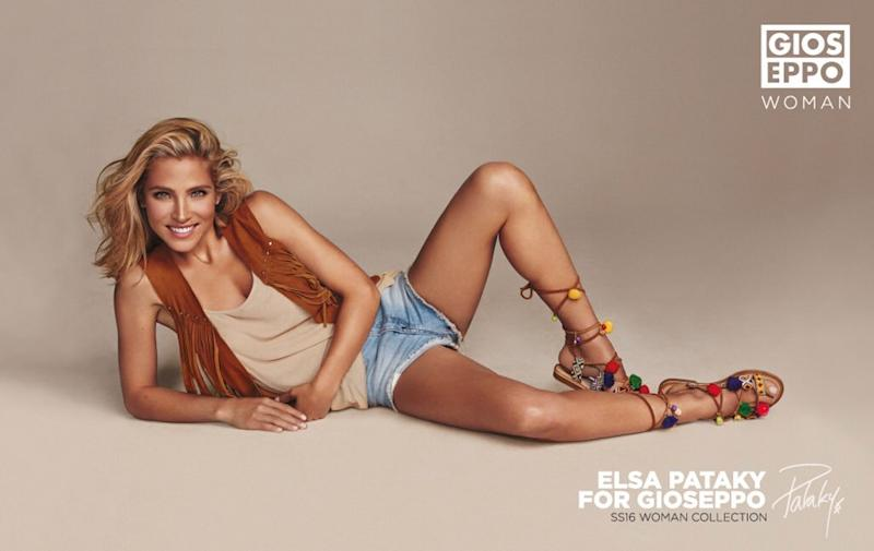 This sports ad featuring Elsa Pataky is not really sporty, to say the least. (Photo: Twitter/Elsa Pataky)