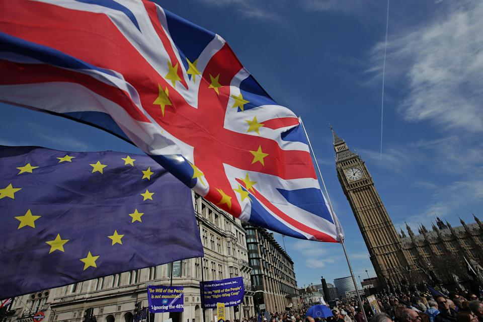 Brexit may be done, but it looks as though the debate is still far from over (AFP/Getty)