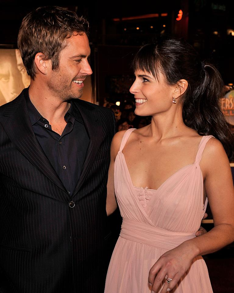 "<a href=""http://movies.yahoo.com/movie/contributor/1800019262"">Paul Walker</a> and <a href=""http://movies.yahoo.com/movie/contributor/1800025479"">Jordana Brewster</a> at the Los Angeles premiere of <a href=""http://movies.yahoo.com/movie/1809989992/info"">Fast & Furious</a> - 03/12/2009"
