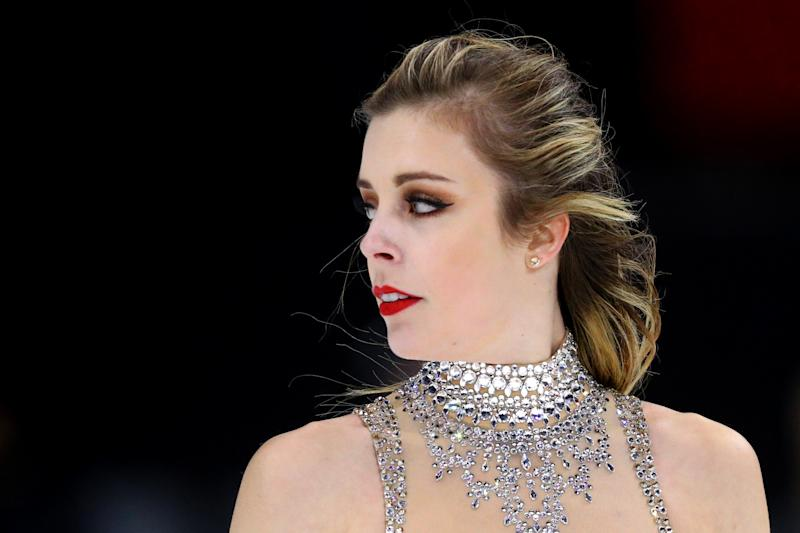 Ashley Wagner says that she was sexually assaulted by fellow figure skater John Coughlin in 2008, when she was 17 and he was 22. (Photo by Maddie Meyer - ISU/ISU via Getty Images)