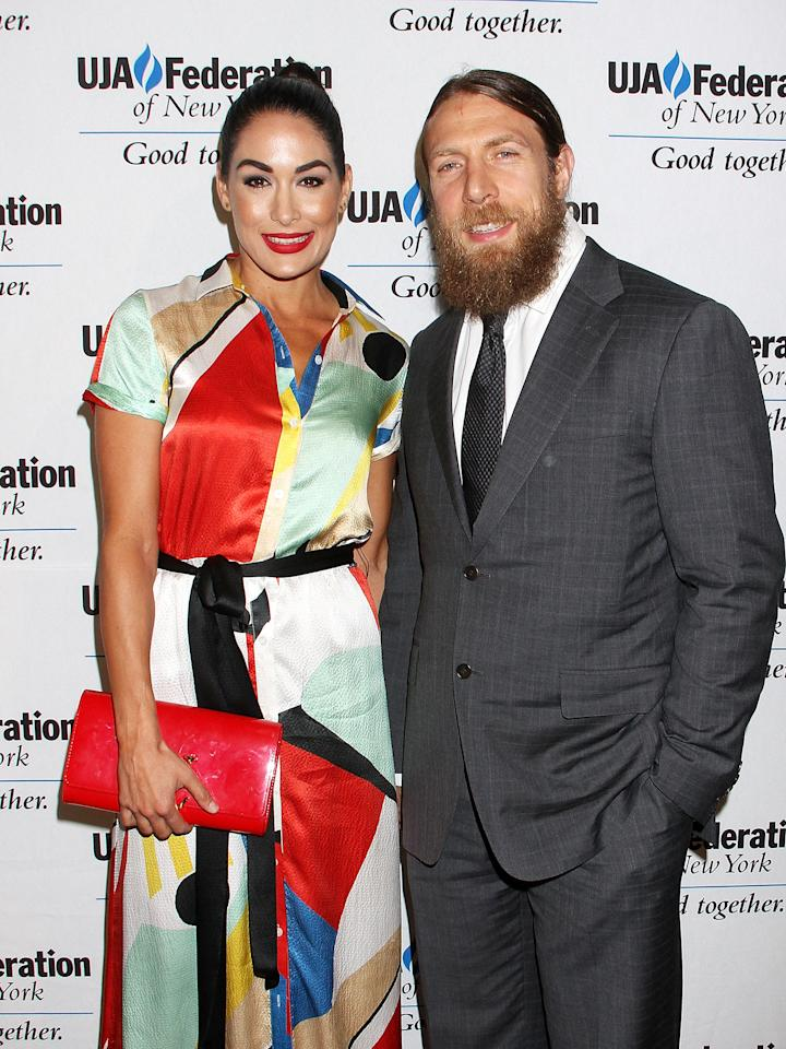 """WWE's Bella is expecting her first child with husband Bryan, she told E! News. """"It has always been a dream of mine to become a mother,"""" the Total Bellas star said. """"Now that it is finally real, it fills me up with so much happiness. I can't wait to see my husband, Bryan, be a father to our child. I am so excited for this new chapter in our lives."""""""