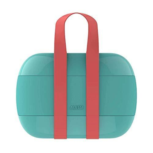 """Keep your daily sustenance secured in this compact lunch container with three tiers of storage from <a href=""""https://www.architecturaldigest.com/story/alessi-design-museum-holon-article?mbid=synd_yahoo_rss"""" rel=""""nofollow noopener"""" target=""""_blank"""" data-ylk=""""slk:Alessi"""" class=""""link rapid-noclick-resp"""">Alessi</a>. It's made from a durable thermoplastic resin and secured by a tight silicone band with easy-to-transport handles. $67, Amazon. <a href=""""https://www.amazon.com/Alessi-Porter-Lunch-Sakura-Adachi/dp/B07JQ4RJW3/ref=asc_df_B07JPBYTK3/"""" rel=""""nofollow noopener"""" target=""""_blank"""" data-ylk=""""slk:Get it now!"""" class=""""link rapid-noclick-resp"""">Get it now!</a>"""