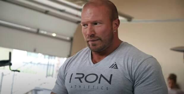 West Kelowna resident Kyle Gianis, 37, ran a fitness company. He survived numerous attempts at his life over the past 14 years.  (Iron Athletics/YouTube - image credit)