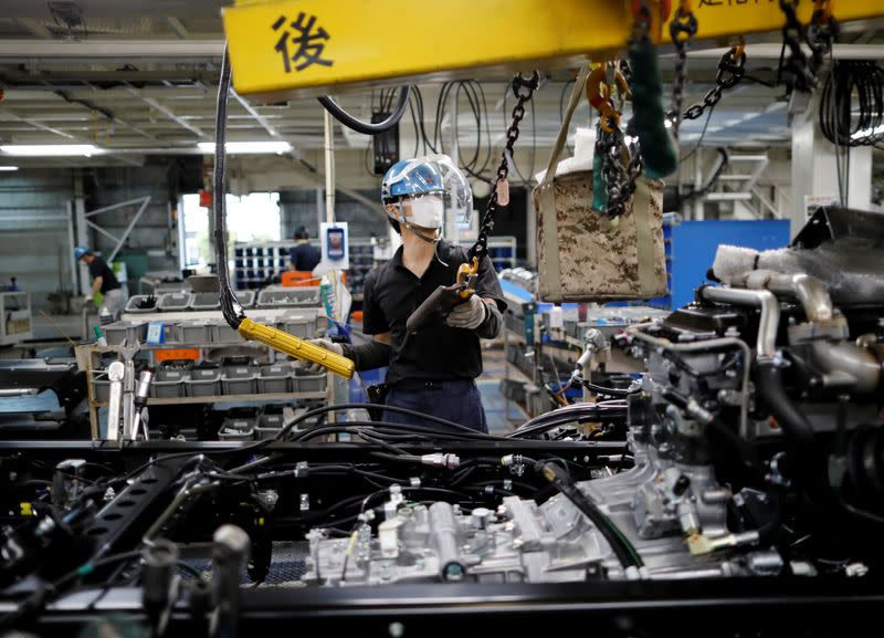 Japan's May factory activity reels as pandemic hits output, orders - PMI