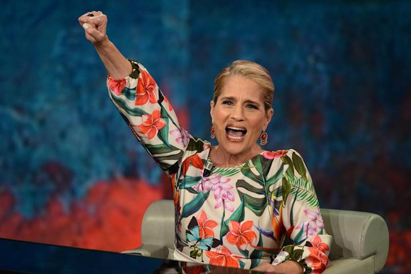 Heather Parisi contro Grillo e Di Maio