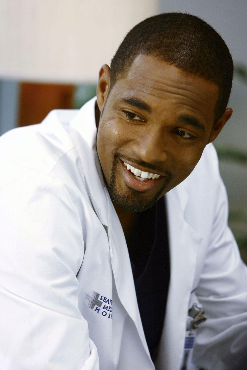 <p>Jason George started his run on <em>Grey's Anatomy </em>as a recurring character: Benjamin Warren, Miranda Bailey's love interest. </p>