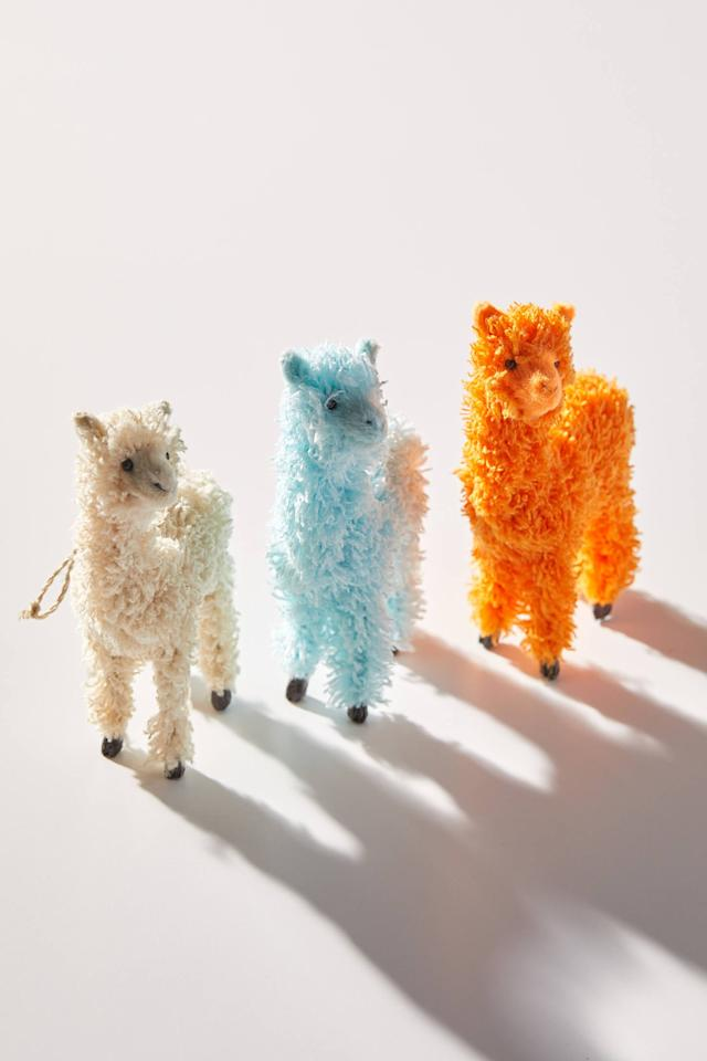 """<p>Now you and your best friends can have matching <a href=""""https://www.popsugar.com/buy/Llama-Christmas-Ornaments-512672?p_name=Llama%20Christmas%20Ornaments&retailer=urbanoutfitters.com&pid=512672&price=14&evar1=savvy%3Aus&evar9=42846563&evar98=https%3A%2F%2Fwww.popsugar.com%2Fsmart-living%2Fphoto-gallery%2F42846563%2Fimage%2F46903037%2FLlama-Christmas-Ornament&list1=gifts%2Choliday%2Cstocking%20stuffers%2Cchristmas%2Cgift%20guide%2Cgifts%20for%20women%2Cgifts%20under%20%2450&prop13=api&pdata=1"""" rel=""""nofollow"""" data-shoppable-link=""""1"""" target=""""_blank"""" class=""""ga-track"""" data-ga-category=""""Related"""" data-ga-label=""""https://www.urbanoutfitters.com/shop/llama-christmas-ornament?category=SEARCHRESULTS&amp;color=020"""" data-ga-action=""""In-Line Links"""">Llama Christmas Ornaments</a> ($14).</p>"""