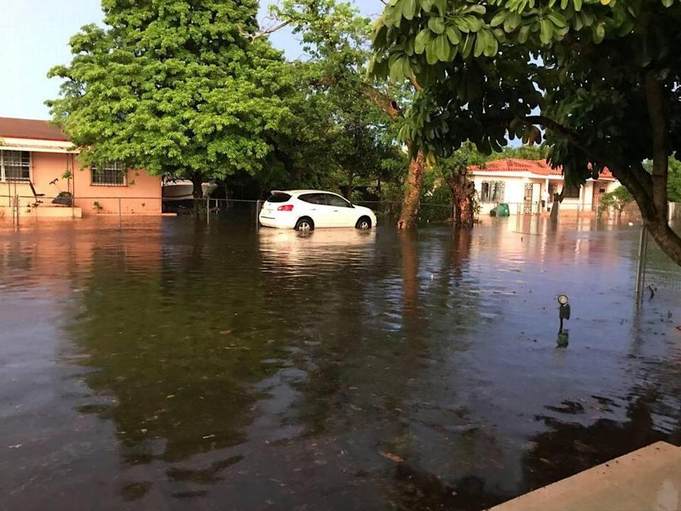 A strong rainstorm is enough to turn Fourth Terrace in Flagami into 'a river,' and residents want the city to fix the problems soon.