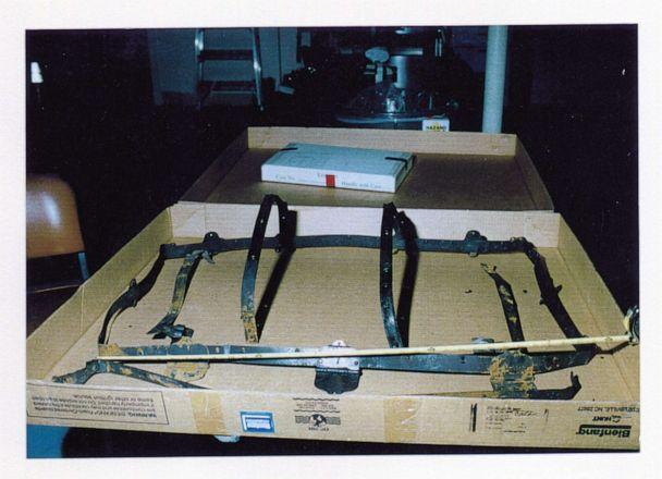 PHOTO: Hardware let from the trunk where parts of Ron Rudin's remains were found.  (Las Vegas Metro Police Department)