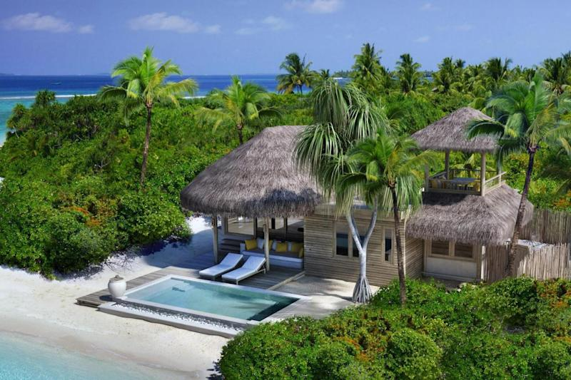 The two bedroom family villas