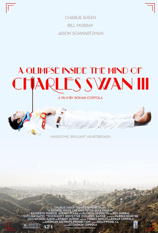"""""""A Glimpse Inside the Mind of Charles Swan III"""" Poster"""