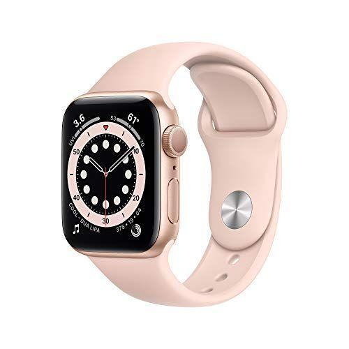 """<p><strong>Apple</strong></p><p>amazon.com</p><p><strong>$349.99</strong></p><p><a href=""""https://www.amazon.com/New-Apple-Watch-GPS-40mm-Aluminum/dp/B08J5RBMRN?tag=syn-yahoo-20&ascsubtag=%5Bartid%7C10055.g.35000690%5Bsrc%7Cyahoo-us"""" rel=""""nofollow noopener"""" target=""""_blank"""" data-ylk=""""slk:Shop Now"""" class=""""link rapid-noclick-resp"""">Shop Now</a></p><p>Besides acting as a second alternate to your phone to receive and send messages, the Series 6 is loved by our Lab experts and online reviewers for its <strong>enhanced wellness package</strong>. """"We love that it comes with a built-in oximeter to measure blood oxygen levels, sleep monitoring, and an FDA-certified heart rate tracker to head off cardiac concerns,"""" says Rothman. </p>"""