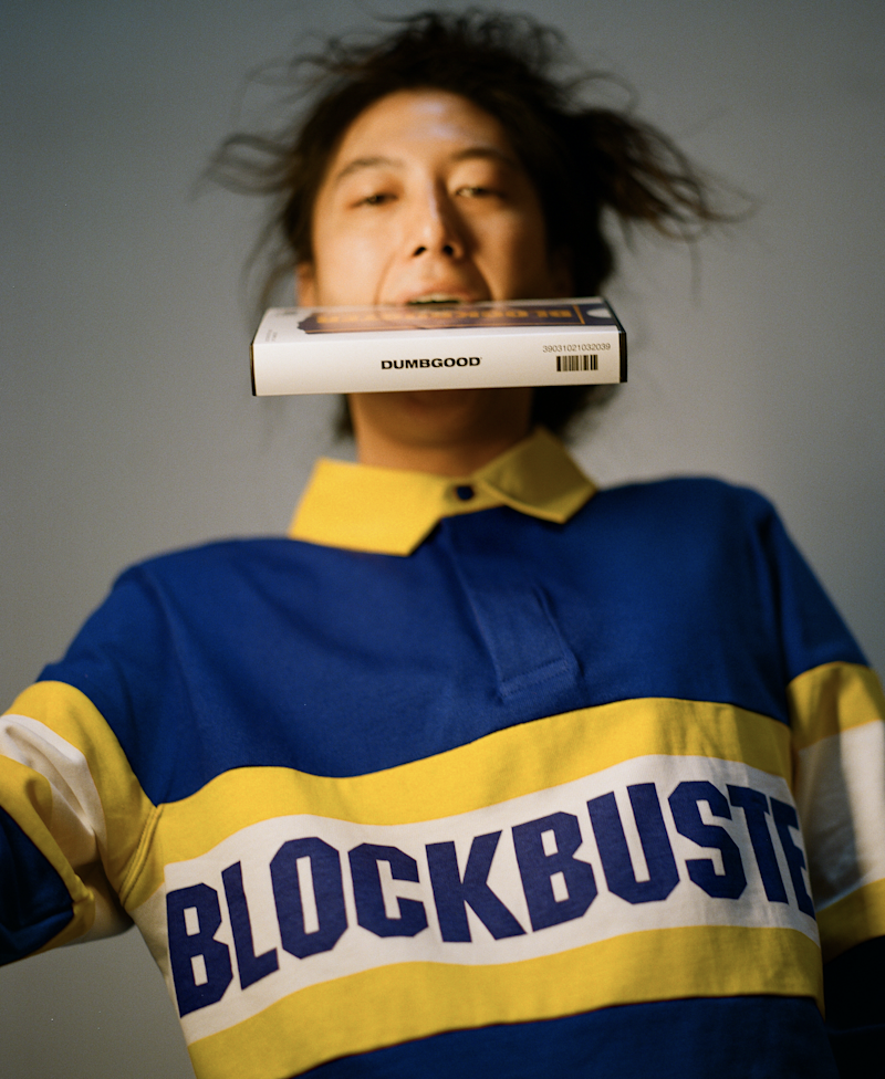 Dumbgood's Blockbuster Long Sleeve Rugby