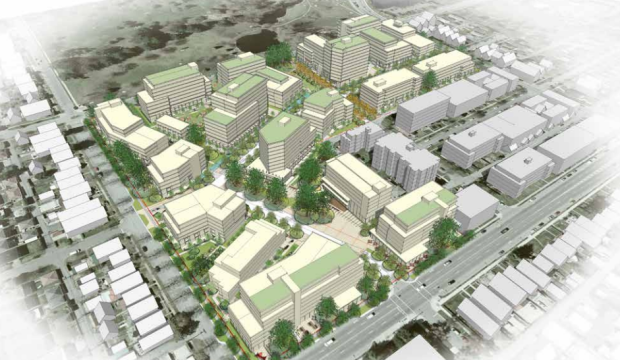 The initial Little Mountain site rezoning plan called for 1,400 residential units and double the density that existed when the site was demolished in 2009.