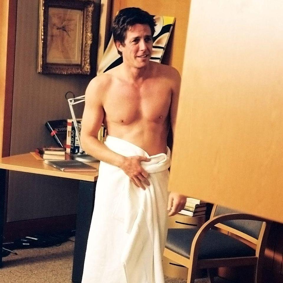 """<p>Again playing a rich womanizer, Grant stars in this 2002 film opposite Sandra Bullock. Our favorite sartorial moment? Grant scantily wrapped in nothing but a towel.</p><p><a class=""""link rapid-noclick-resp"""" href=""""https://www.amazon.com/gp/video/detail/amzn1.dv.gti.62a9f7a3-cbcf-76c1-94f8-3ed657c04d55?autoplay=1&ref_=atv_cf_strg_wb&tag=syn-yahoo-20&ascsubtag=%5Bartid%7C10056.g.34990725%5Bsrc%7Cyahoo-us"""" rel=""""nofollow noopener"""" target=""""_blank"""" data-ylk=""""slk:WATCH NOW"""">WATCH NOW</a></p>"""