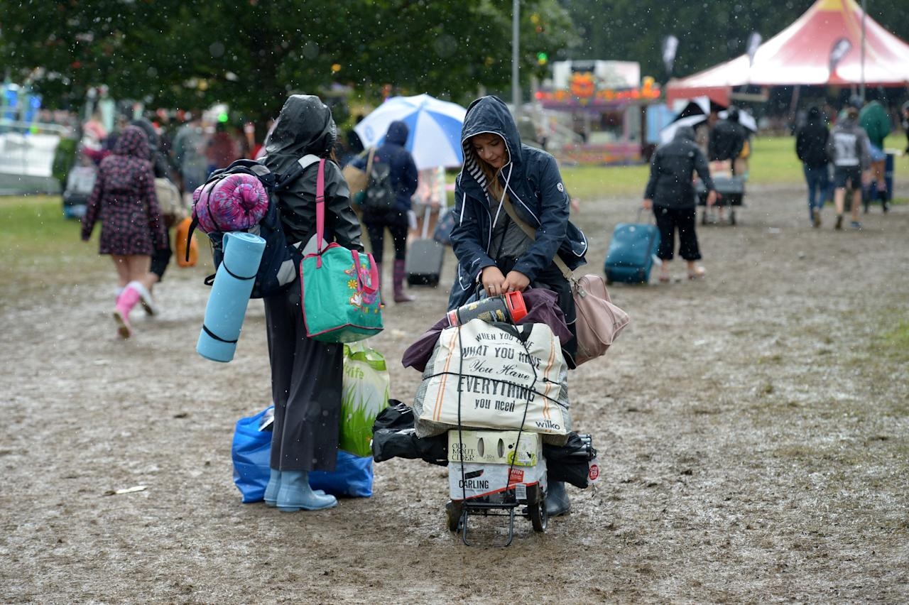 <p>It's the latest in the busy festival season that overtakes Britain's summer [Picture: SWNS] </p>