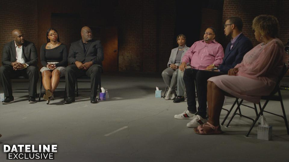 Family members of Black people killed or seriously injured in police custody speak to NBC's Craig Melvin for a new 'Dateline' special.
