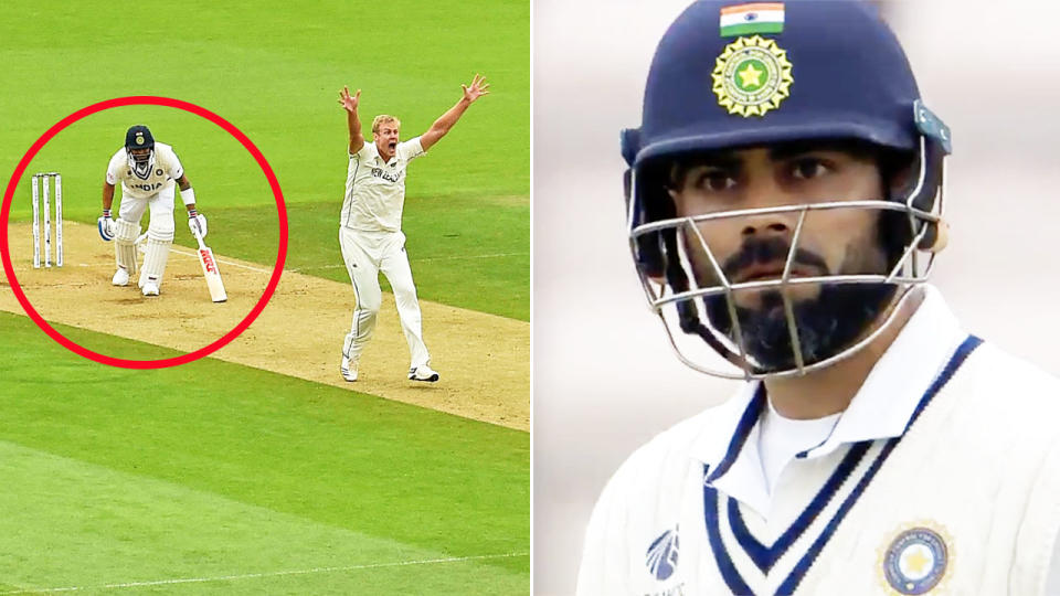 Virat Kohli, pictured here in action during the World Test Championship final.