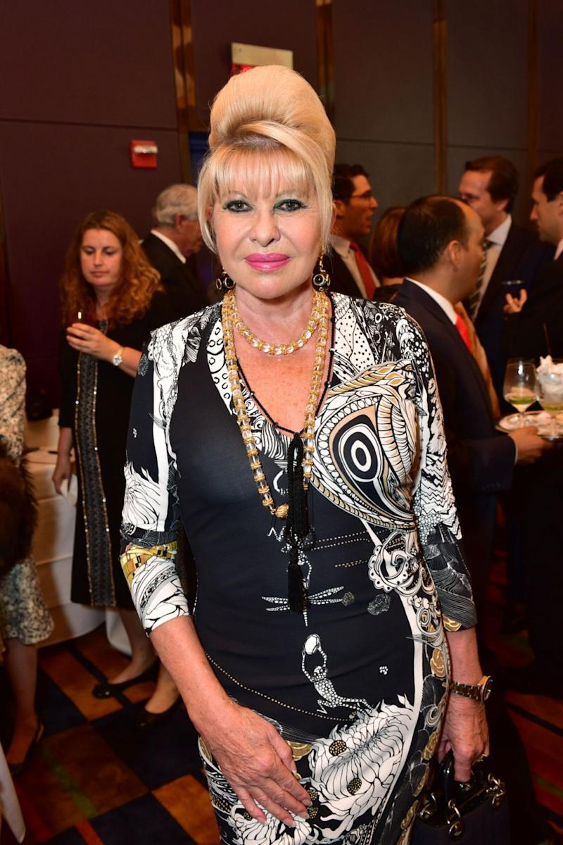 Ivana said she has a direct line to the White House and was his first wife, so essentially she is the first lady. Photo: Getty Images