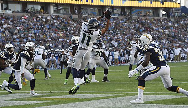 NFL: Seahawks demontieren Chargers - Colts zahnlos