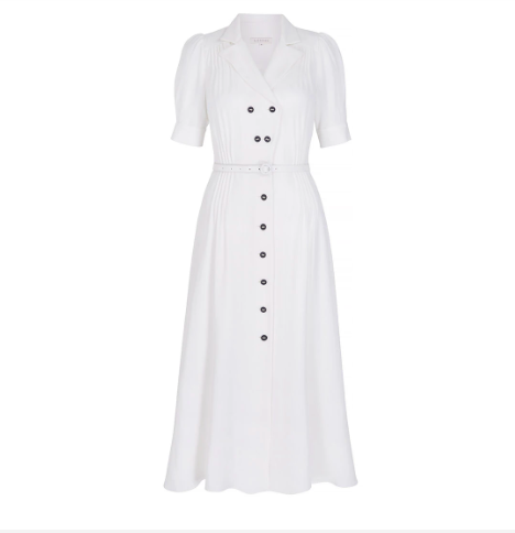 The 'Flippy Wiggle Dress' by Suzannah London will set you back £1,850 {Image: Suzannah London]