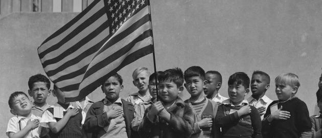 Pledge of Allegiance. Photo: public domain/US National Archives and Records Administration