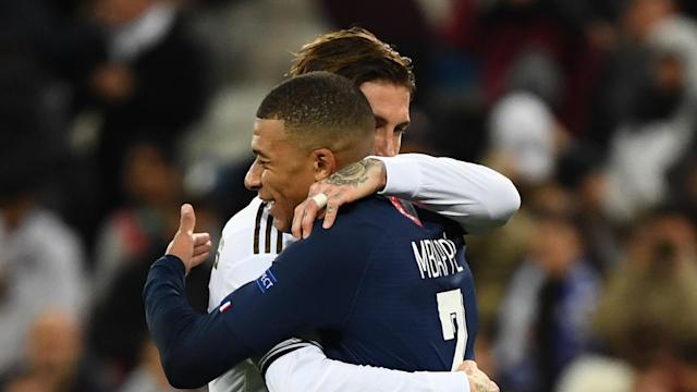 Kylian Mbappe PSG Real Madrid UCL 26112019