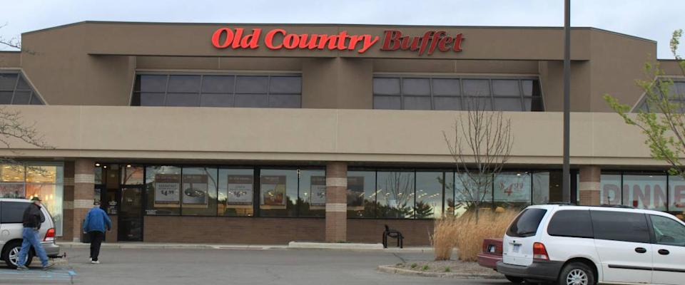 Old Country Buffet, 914 W. Eisenhower Pkwy, Ann Arbor, MI 4810, photographed in 2010. Now Closed Due to Bankruptcy