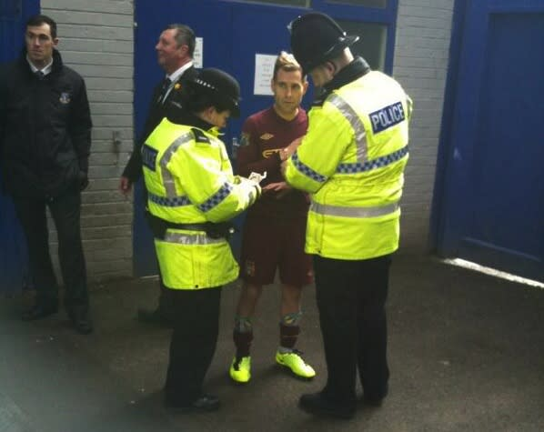 BBC comedian in Man City kit arrested for trying to warm ...