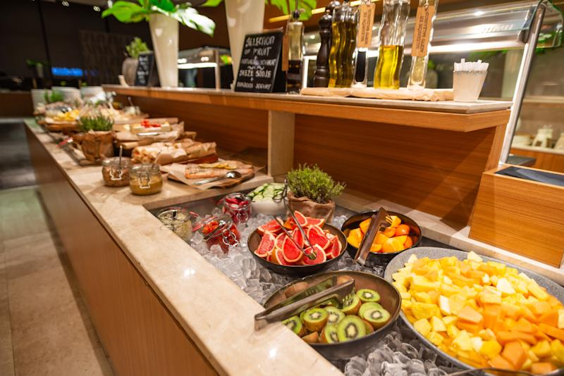Breakfast Buffet in the Restaurant