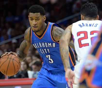 Perry Jones will try to kickstart his career in Boston. (Jayne Kamin-Oncea-USA TODAY Sports)