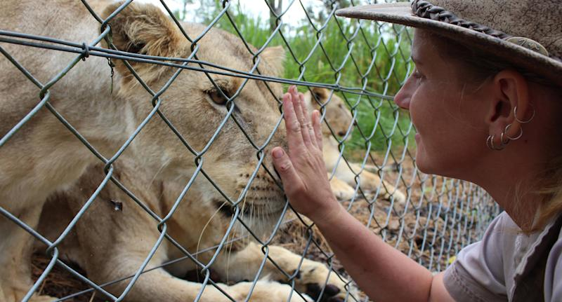 Jennifer Brown was critically injured in a vicious lion attack on Friday. Source: Facebook