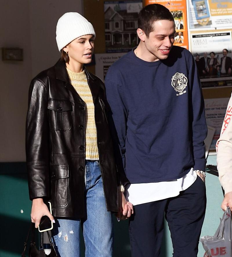 Kaia Gerber and Pete Davidson | Elder Ordonez / SplashNews.com