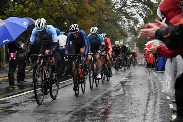 Rain took a huge toll on the 2019 world championships in Harrogate (AFP Photo/Ben STANSALL)
