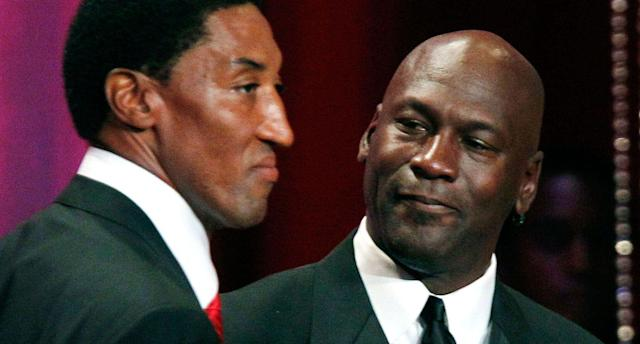 Scottie Pippen appears to have seen the error of his way in the LeBron vs. M.J. debate. (AP)
