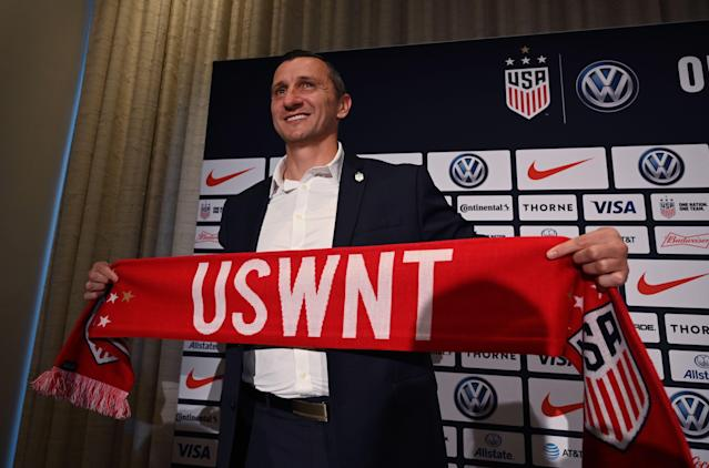 Vlatko Andonovski is the 10th USWNT manager in history, and he can learn plenty from his predecessors. (Getty Images)