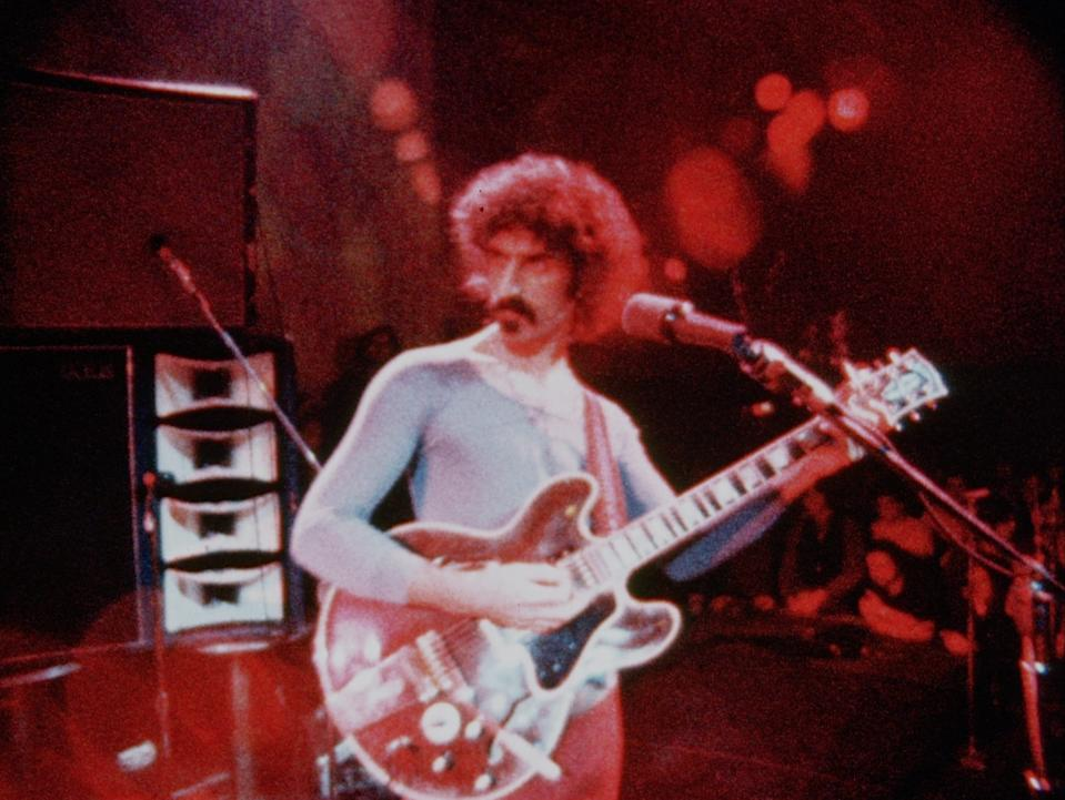 """In """"Zappa,"""" directed by Alex Winter (of """"Bill & Ted"""" fame), archival footage and interviews with collaborators and family chart the artistic and musical path of the innovative Frank Zappa."""