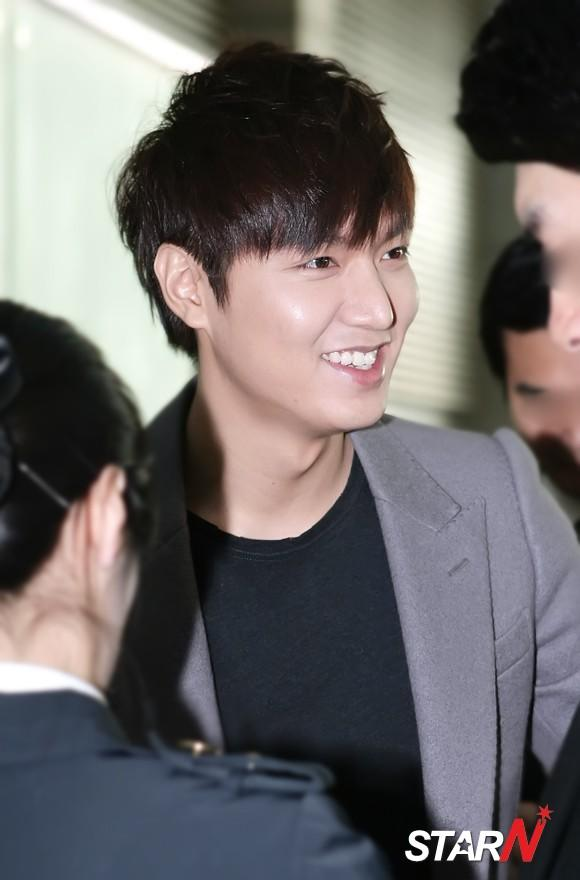 [Photo] Lee Min Ho leaving to China for promotion
